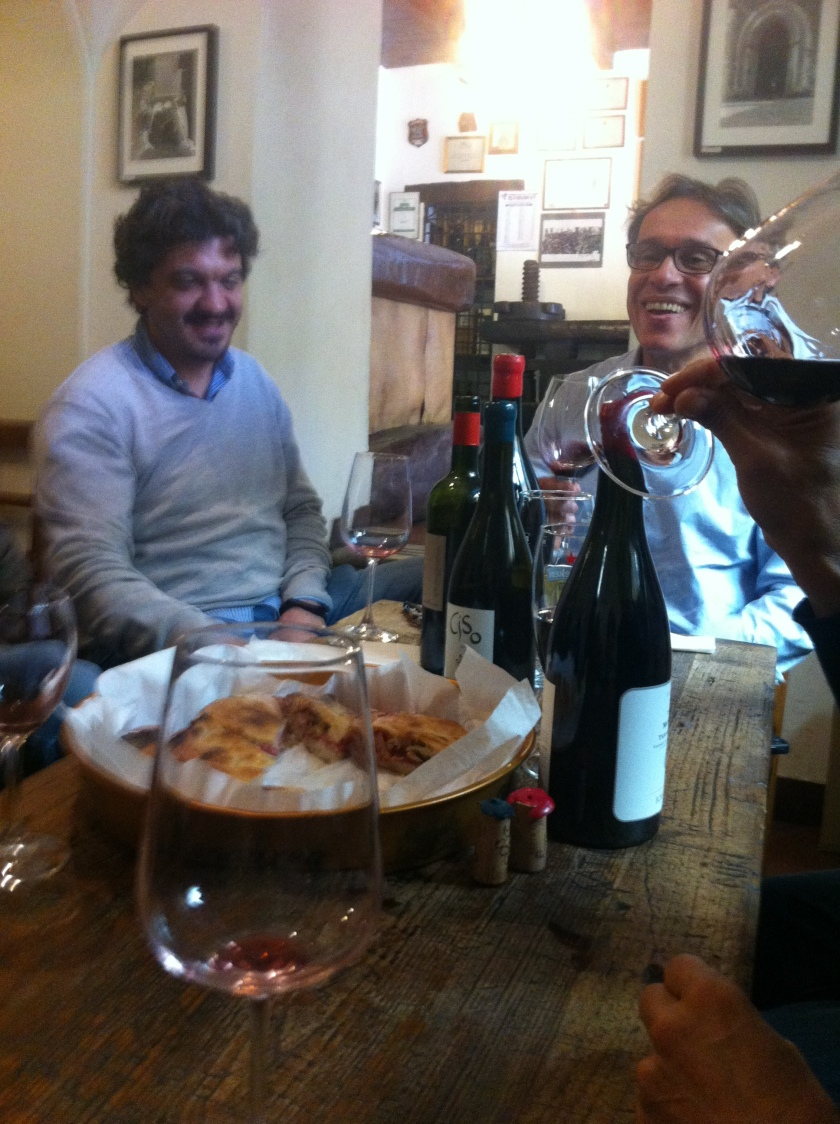 Wine tastiing in L'Aquila